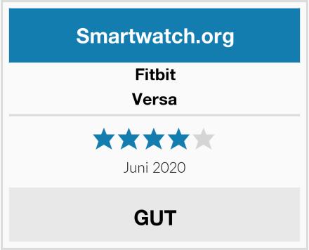 Fitbit Versa Test
