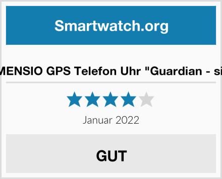 "VIDIMENSIO GPS Telefon Uhr ""Guardian - silber"" Test"