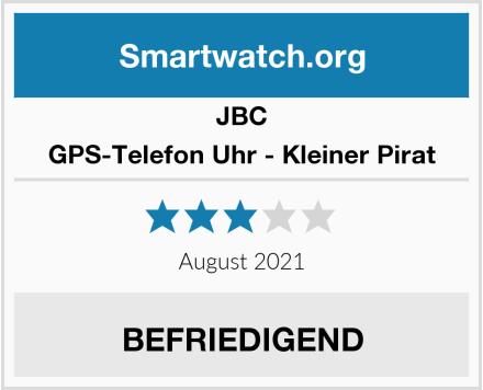 JBC GPS-Telefon Uhr - Kleiner Pirat Test