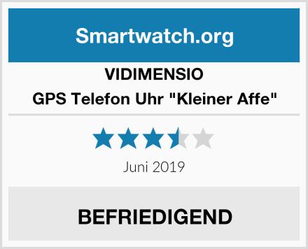 """VIDIMENSIO GPS Telefon Uhr """"Kleiner Affe"""" Test"""