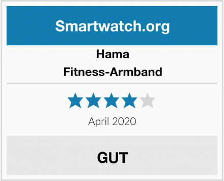 Hama Fitness-Armband Test