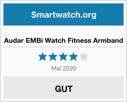 Audar EMBi Watch Fitness Armband Test
