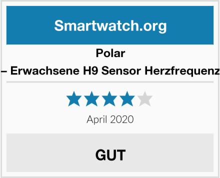 Polar Unisex – Erwachsene H9 Sensor Herzfrequenzmesser Test