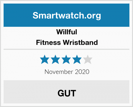 Willful Fitness Wristband Test