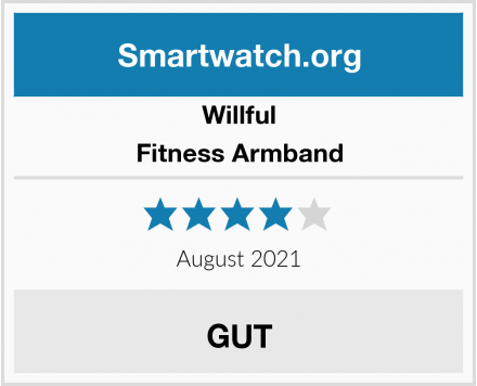 Willful Fitness Armband Test