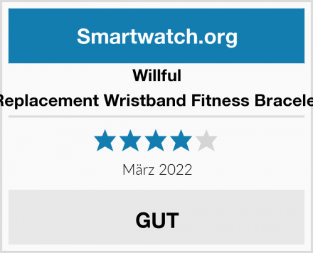 Willful Replacement Wristband Fitness Bracelet Test
