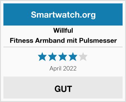 Willful Fitness Armband mit Pulsmesser Test