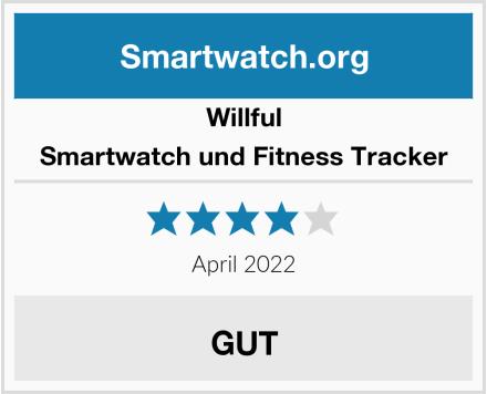 Willful Smartwatch und Fitness Tracker Test