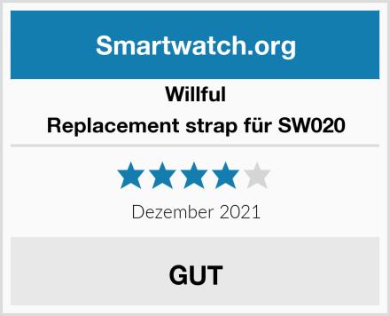 Willful Replacement strap für SW020 Test