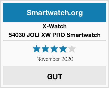 X-Watch 54030 JOLI XW PRO Smartwatch Test