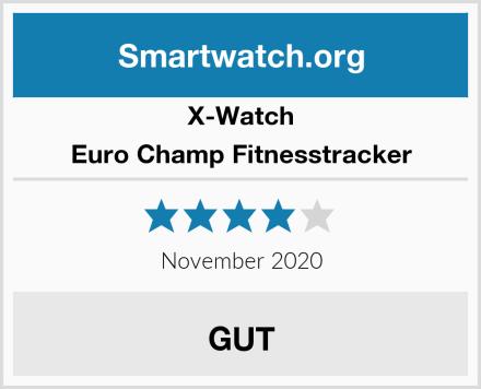 X-Watch Euro Champ Fitnesstracker Test