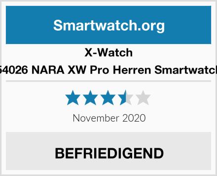 X-Watch 54026 NARA XW Pro Herren Smartwatch Test