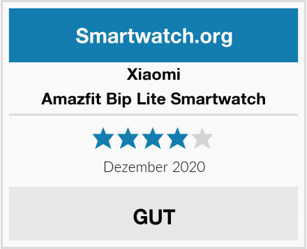 Xiaomi Amazfit Bip Lite Smartwatch Test