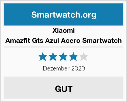 Xiaomi Amazfit Gts Azul Acero Smartwatch Test