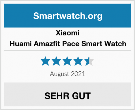 Xiaomi Huami Amazfit Pace Smart Watch Test