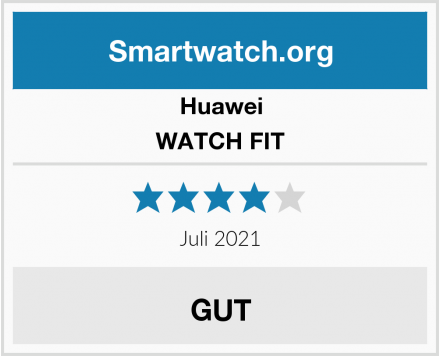 Huawei WATCH FIT Test
