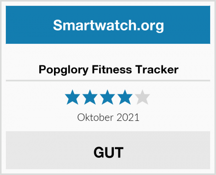 Popglory Fitness Tracker Test