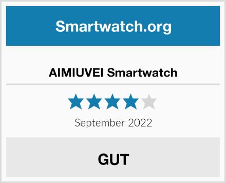 AIMIUVEI Smartwatch Test