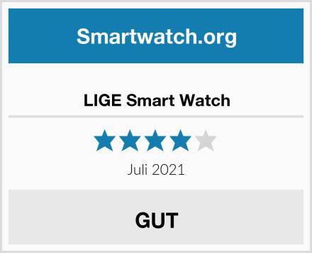 LIGE Smart Watch Test