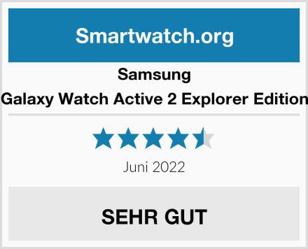 Samsung Galaxy Watch Active 2 Explorer Edition Test