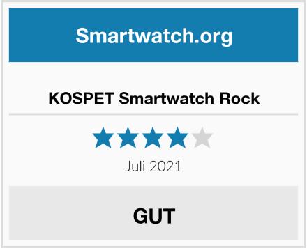 KOSPET Smartwatch Rock Test