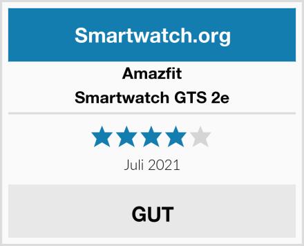 Amazfit Smartwatch GTS 2e Test