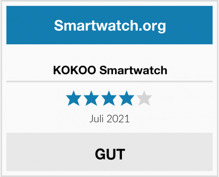 KOKOO Smartwatch Test
