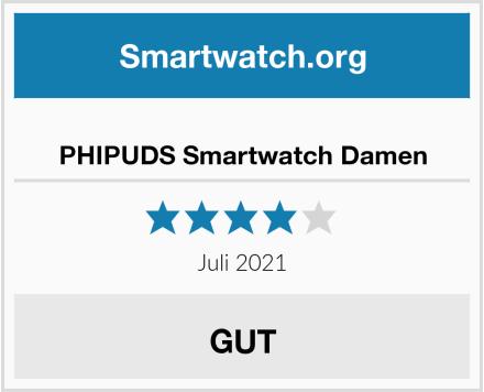 PHIPUDS Smartwatch Damen Test
