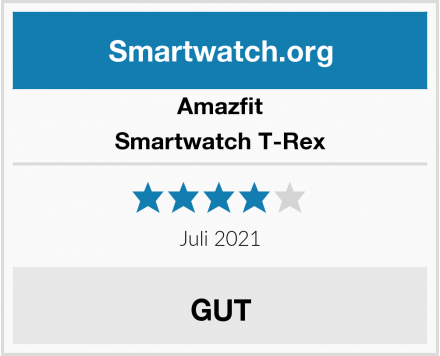 Amazfit Smartwatch T-Rex Test