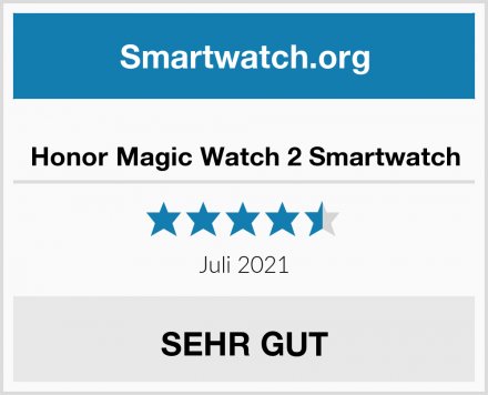 Honor Magic Watch 2 Smartwatch Test