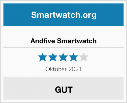 Andfive Smartwatch Test