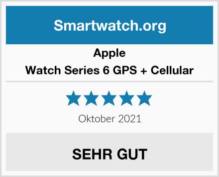 Apple Watch Series 6 GPS + Cellular Test