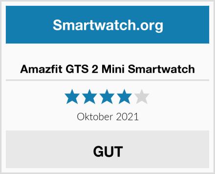 Amazfit GTS 2 Mini Smartwatch Test