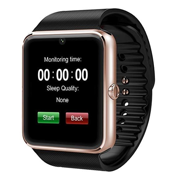 Byd Bluetooth Smartwatch BYDITEM05773 Gold