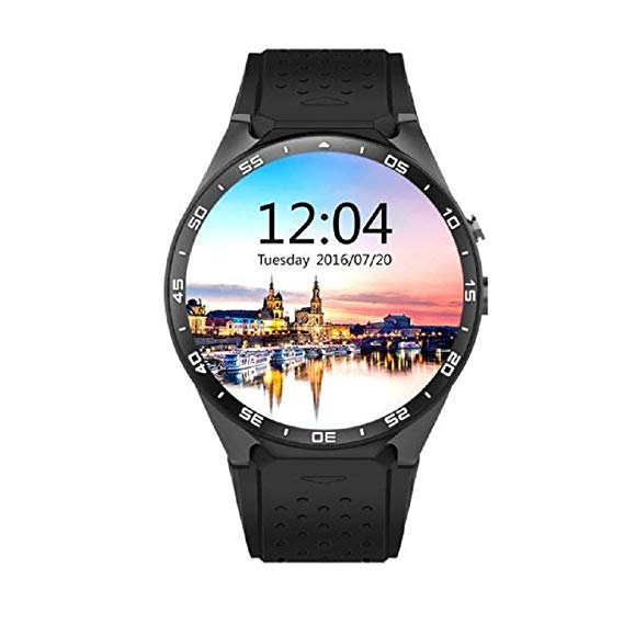 Loveso Smartwatch KW88 Schwarz