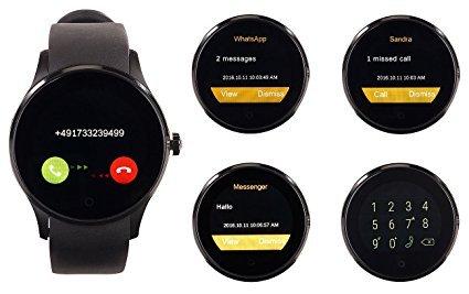 simvalley mobile telefon uhr smartwatch test 2018 2019. Black Bedroom Furniture Sets. Home Design Ideas