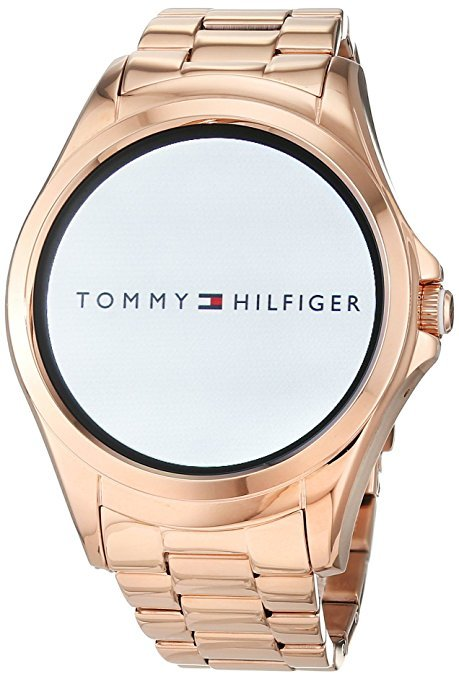 tommy hilfiger damen smartwatch 1781832 smartwatch test 2018. Black Bedroom Furniture Sets. Home Design Ideas