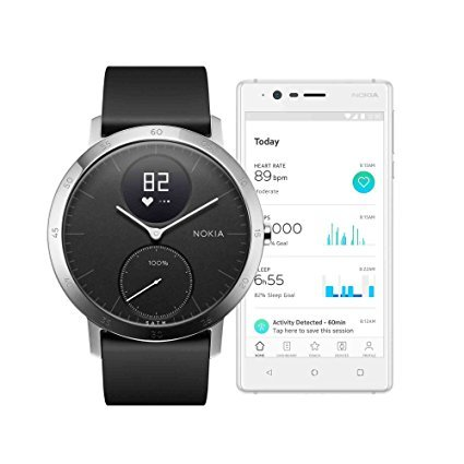 Withings Nokia Steel HR Hybrid Smartwatch